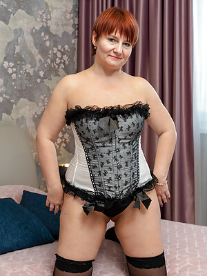Mature Redhead with Big Boobs
