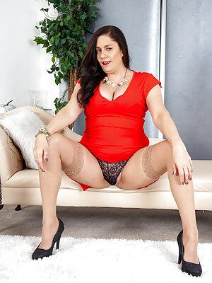 Busty Mature Lady